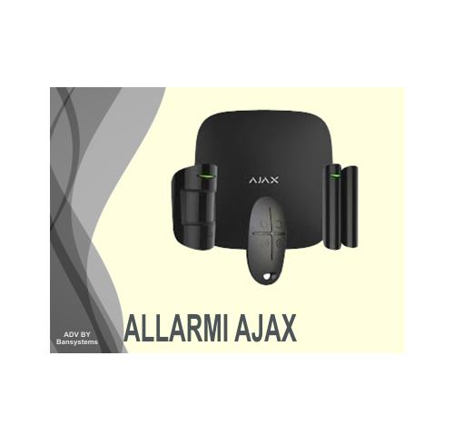 Vendita, installazione, assistanza Allarme Antifurto Ajax