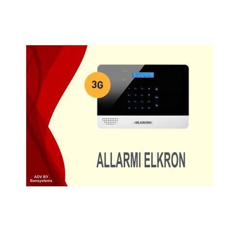 Vendita, installazione, assistanza Allarme Antifurto Elkron