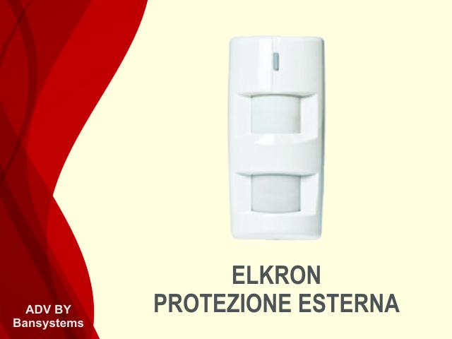 Sensore Volumetrico Esterno Elkron