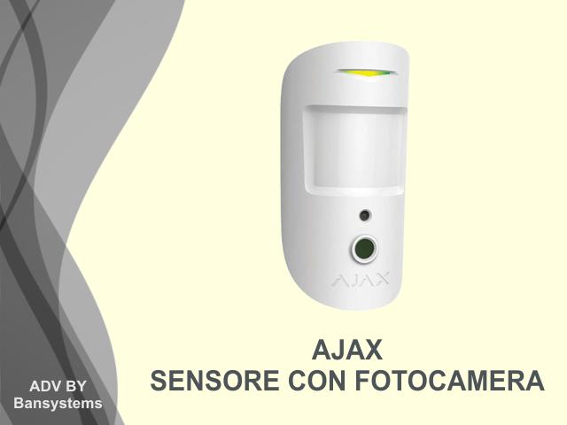 Sensore Volumetrico con Telecamera Ajax