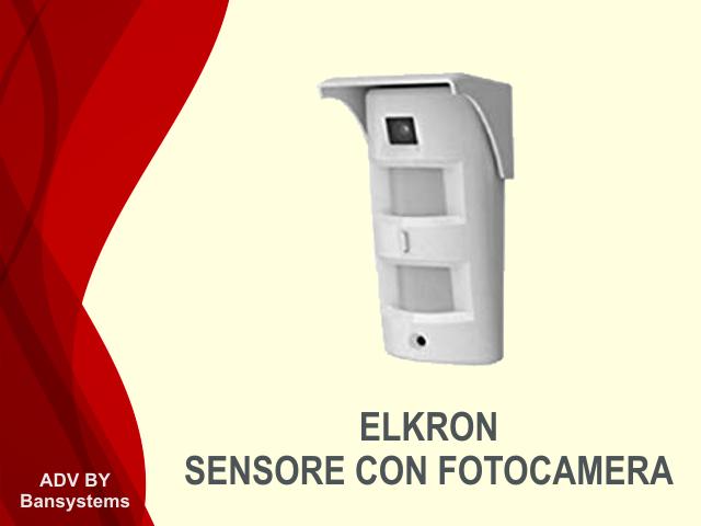 Sensore Volumetrico con Telecamera Elkron