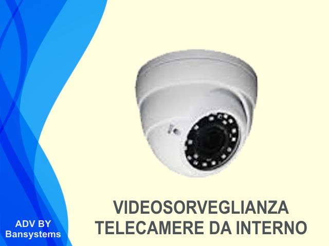 Videosorveglianza IP telecamere interno