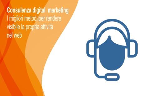 Consulenza web digital marketing