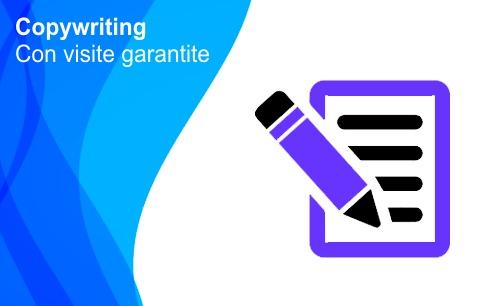Copyriting persuasivo con visite garantite