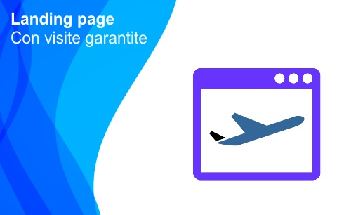 Landing page con visite garantite